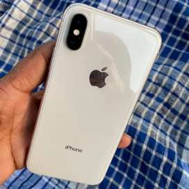 iPhone X (64) with all assccoriess and warranty