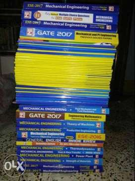 made easy mechanical study material of Gate/ESE