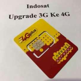 UPGRADE KARTU INDOSAT 3G ke 4G