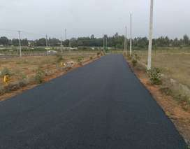 Residential sites for scale in banglore north near babalur