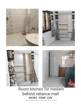 Furnished room for officer medam all Rajkot