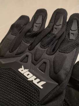 Used Thor Riding Gloves (M) for Sale