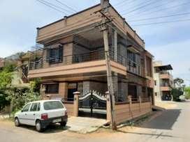 Vijaynagar 2STAGE corner duplex house ,