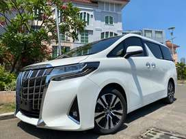 Alphard 2.5 G ATPM 2018 White Km10rb Heater Seat #AUTOHIGH #MUST HAVE