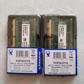Memory RAM Sodimm Laptop DDR3 4GB PC12800