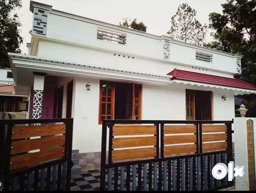2 bhk 750.sqft 3 cent new build house at edapally near varapuzha 0