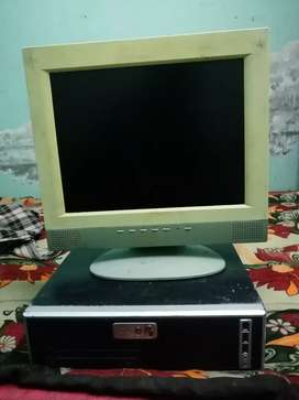 I am selling my desctop computer with multimedia lcd