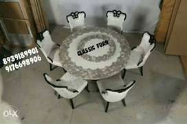 bran dnew modern marble dining table