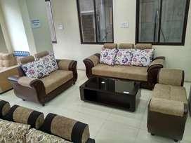 Dewan 3+2 New model Emi Available tanveer furniture brand new sofa set