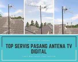 Workshop agen pasang servis antena tv digital terbaik