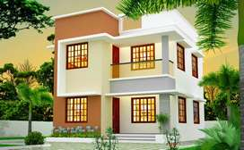 Upcoming 3bhk houses  with bank loan location in Airport Paravoor road