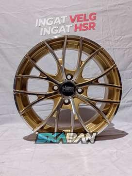 jual velg hsr wheel naples ring 15 utk mobil mirage,wagon,vios,datsun