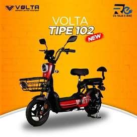 Sepeda Listrik Volta 102 Bisa Kredit Promo Gratis Admin Promo Weekend