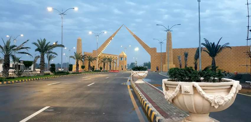 5 Marla Residential Plot on easy installments only 20000/ month 0