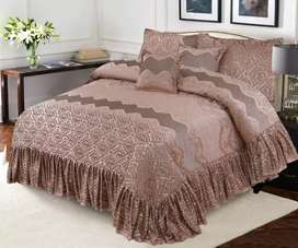 Pure Welvet  Bridal Bedsheets or Quilt  with Pillow or Caution