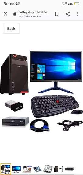 Acer screen..one philips buffer speaker.one UPS inverter.moniter.mouse