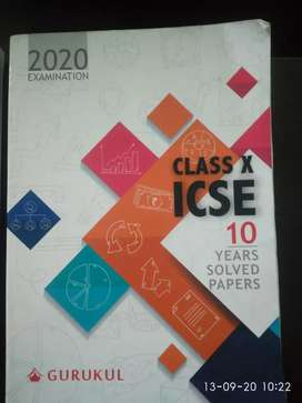 CLASS X ICSE PAST TEN YEARS SOLVED PAPERS