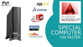 WARRANTY 3 YEAR - 10 X FASTER -AUTOCAD SPECIAL CPU-MECHANICAL SPL CPU