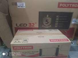 TV 32 Inchi Polytron New garansi resmi 5 Tahun