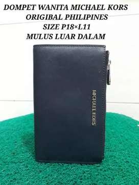 MICHAEL KORS PHILIPINE ORIGINAL SIZE P18,5xL11 cm kndisi mulus92%