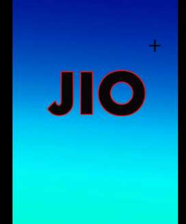 Jio company required a data entry operator