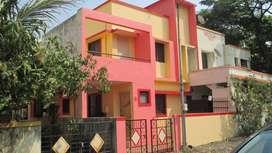 2BHK Row Bungalow For Sale in Khuntwad Nagar, Nasik.