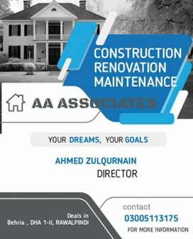 Contractor and engineers