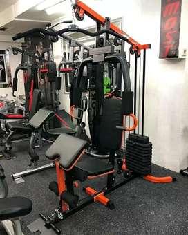 Home gym 1 sisi terbaik free ongkir besi kokoh dan beban max 75kg