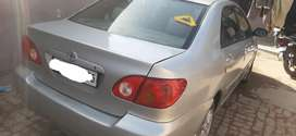 Toyota Corolla 2008 Petrol + CNG  on paper Noc  Well Maintained