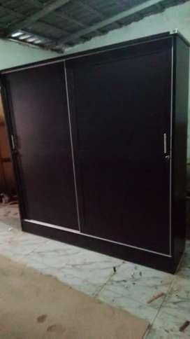 lemari pintu slid uk super big 200x50x200