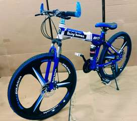 New brand being human Foldable cycle
