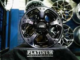 Menjual Velg HSR MYTH03 R18 Untuk Voxy,Wuling,Almaz DLL