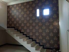 Wallpaper dinding,lantai vinyl&intetior