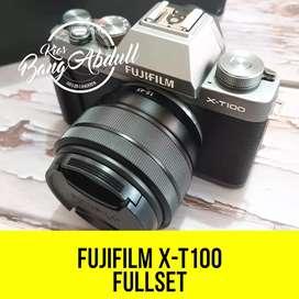 FujiFilm X T100 fullset