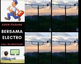 Ahli pemasangan signal antena tv murah beji
