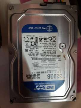 Wd Hard disk and 1 GB DDR2 RAM urgent sell
