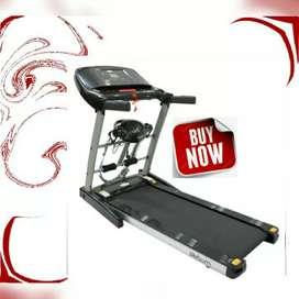Peralatan olahraga terlengkap treadmill elektrik i8 ireborne/ home gym