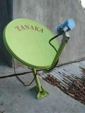 Antena parabola bening Nganjuk