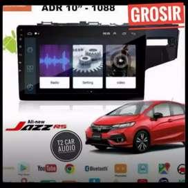 New promo 2din android 10inc for HONDA JAZZ+camera hd harga mumer