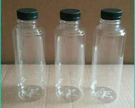 minuman botol almond 250ml cocok utk jus jamu thaitea jelly puding
