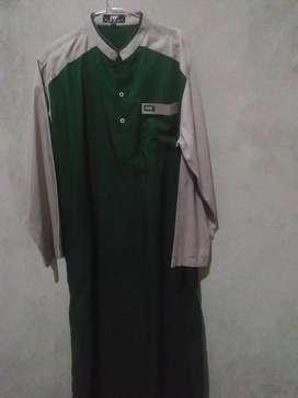 Gamis jubah pria merek hanif ukuran M