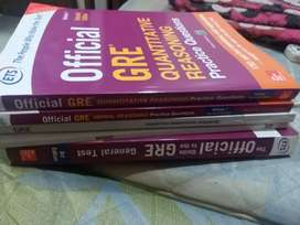GRE and Ielts practice books