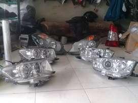 Menjual part lampu lampu,spion,bemper,body /service headlamp stoplamp