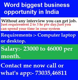 Company Needs Data Entry Operators For a Home Based Job On Your Pc