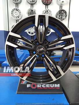 Pelek mobil murah R17 HSR Merkin Ring 17 Pcd 4x100 & 4x114,3 Lebar 7,5
