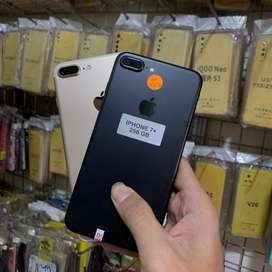 Iphone 7 plus 256Gb tanpa ada lecet sama sekali