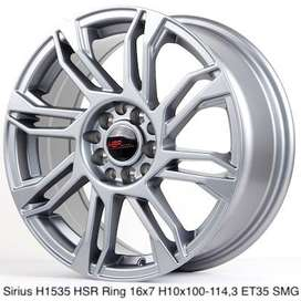 Toko velg SIRIUS H1535 HSR R16X7 H10X100-114,3 ET35 SMG