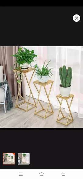 pack of 3 indoor flower stand indoor and outdoor