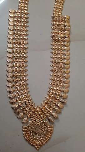 Gold plated Kerala haram