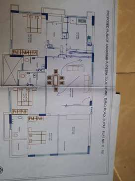 Fully furnished new 4 bhk flat